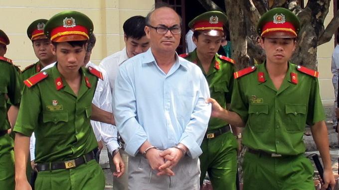ông Phan Thanh Vân tại tòa án